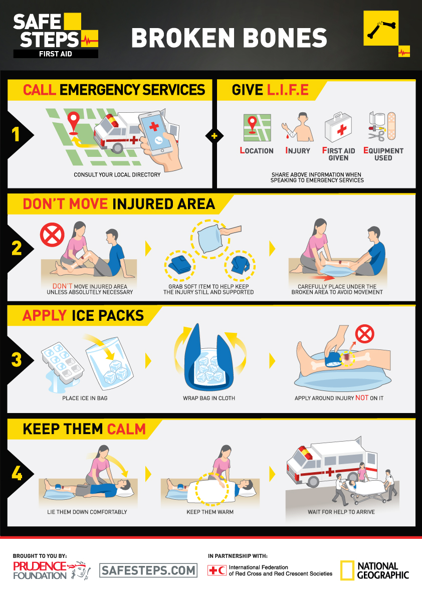 First Aid Safe Steps